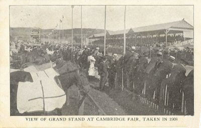 1908 Cambridge Fair