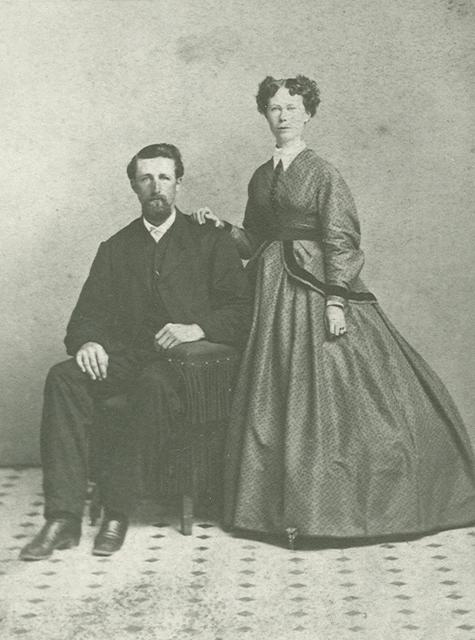 William John Coulter & Angeline Stone