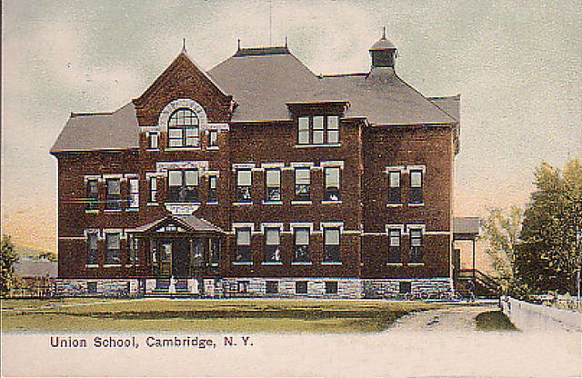 Union School, Cambridge, NY, 1907