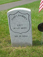 James Ramsey Gravestone
