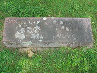 Blanche Wilkson and Charles T. Johnson Gravestone
